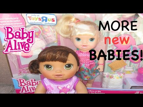 BABY ALIVE Toys R Us Outing AND MORE NEW BABIES!!