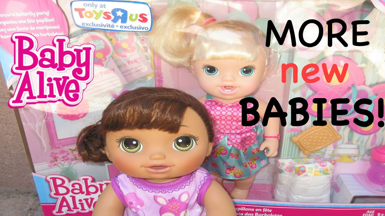 Baby Alive Toys R Us Outing And More New Babies Youtube