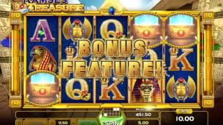Обзор игрового автомата Ramses Treasure (GameArt)