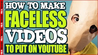 10 Ways To Make Videos Without Showing Your Face