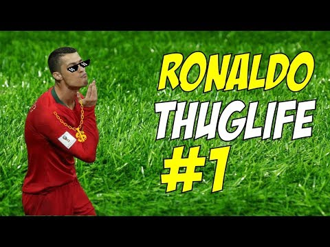 Reaksi Cool & Tengilnya Cristiano Ronaldo - THUGLIFE