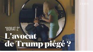 Borat 2 : la scène avec Rudy Giuliani, l'avocat de Donal Trump, est déjà culte