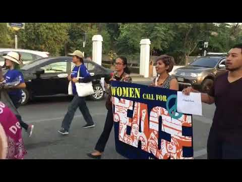 Women Activists March on IWD in Thailand