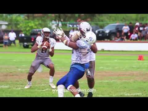 Samoana Sharks 7 - Tafuna Warriors 6 (Varsity Championship - 1st Half)