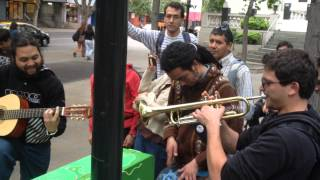 Street Music in Santiago, Chile
