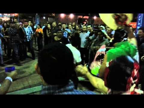 canelo vs trout fan fight 4/20/13