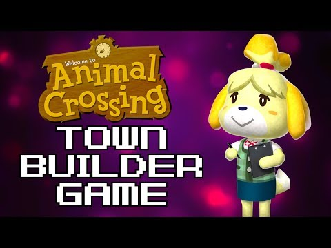 Animal Crossing's Scrapped Town Builder Game
