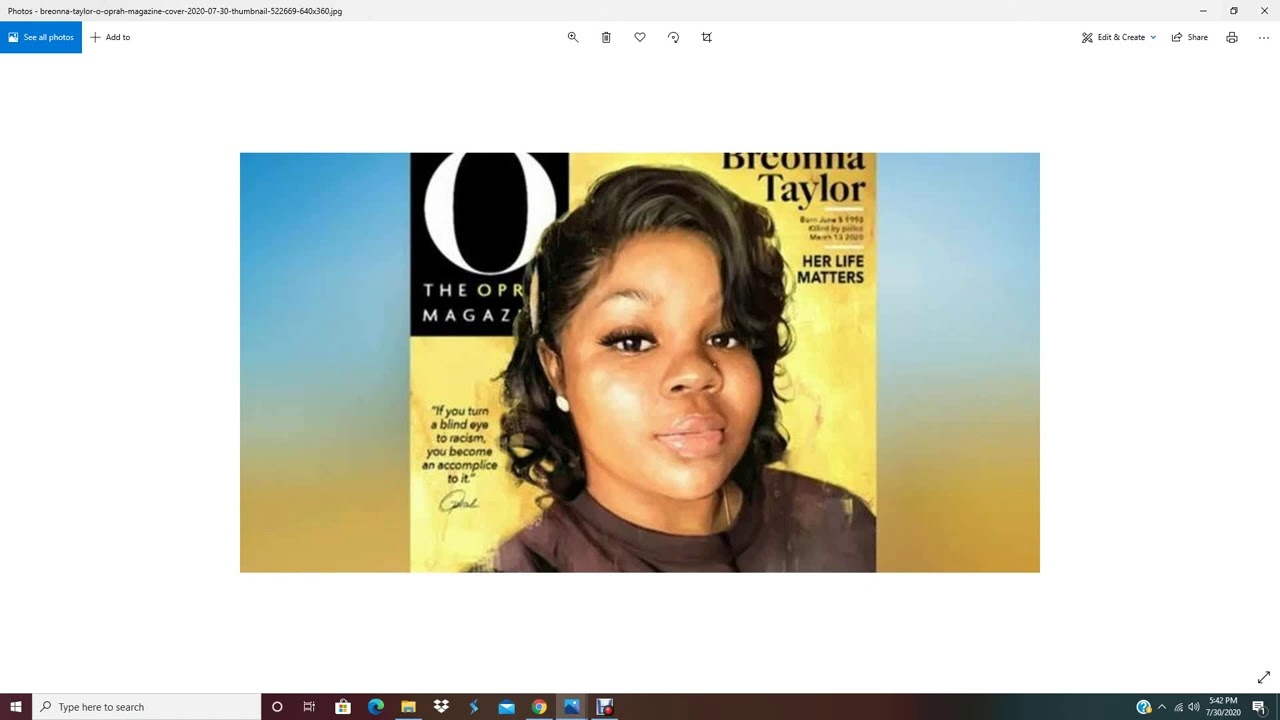 Oprah Gives Up Cover