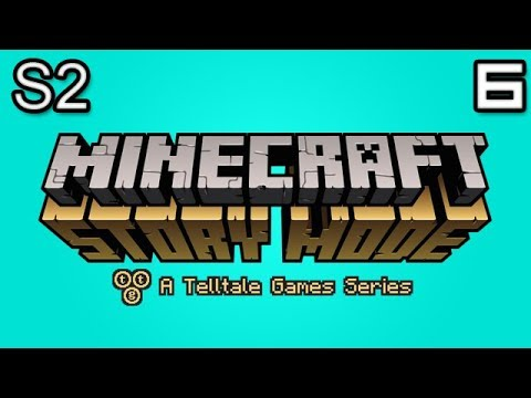 Minecraft Story Mode Let's Play: S2E2 Part 2 - LUNA WILL REMEMBER THAT