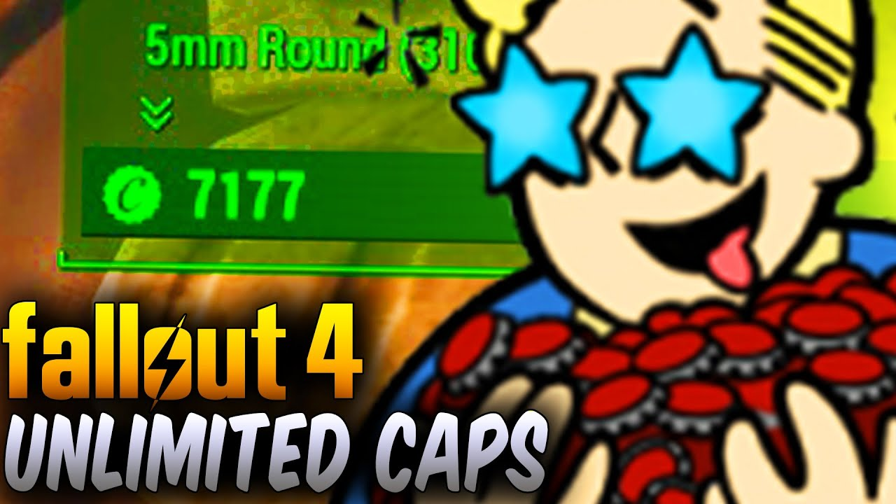 Fallout 4 bottle cap glitch patched - YouTube