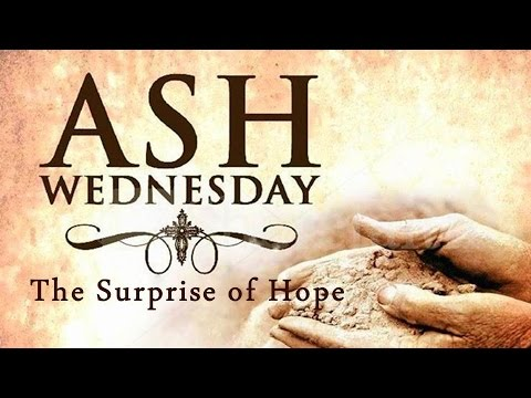 Ash Wednesday 2016 ~ Join Us YouTube