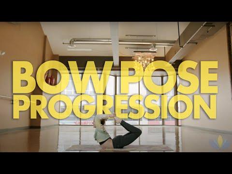 Bow Pose Progression Tutorial with Jessie