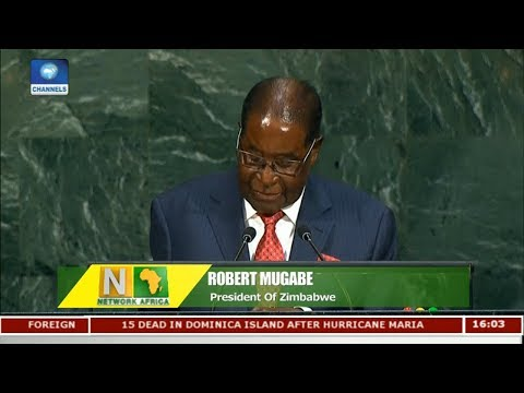 Magabe Slams Trump In UN General Assembly Address | Network Africa |