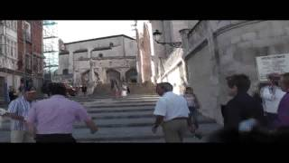 A visit of the city Burgos (Spain), part 1