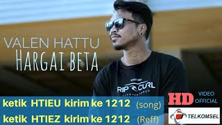 HARGAI BETA - VALEN HATTU (OFFICIAL MUSIC VIDEO )