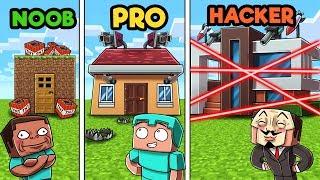 Minecraft - NOOB PRO HACKER - HOUSE SECURITY!
