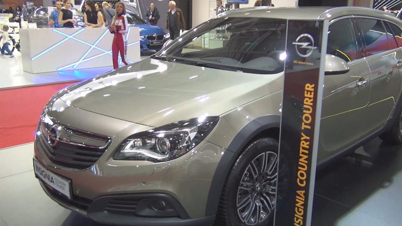 Opel insignia country tourer awd 2 0 cdti 2016 exterior for Interior opel insignia 2015