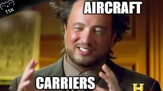 Aircraft Carriers in World of Warships Doing Aircraft Carrier Things
