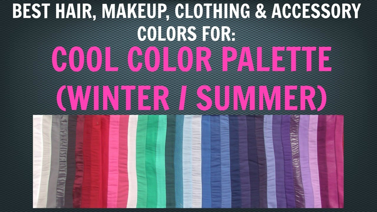 cool winter cool summer color palette best hair makeup outfit
