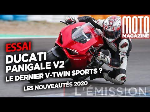DUCATI PANIGALE V2 (2020) - Le dernier v-twin
