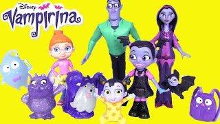 Vampirina | Disney Junior #Вампирина! Видео для детей #Розыгрыш в Потапе! Босс Молокосос