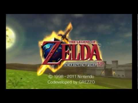 Zelda: Ocarina of Time 3D * 3DS * Young Link Gameplay