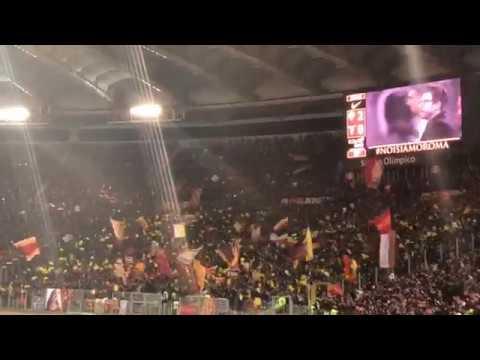 Roma lazio 2-1 - Voglio solo star con Te Voglio vincere e cantar per Te - Curva Sud