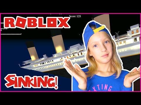 Can We Survive Titanic Sinking Roblox Titanic Youtube