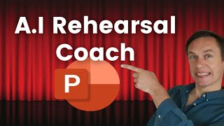 Rehearse with the PowerPoint A.I Presentation Coach