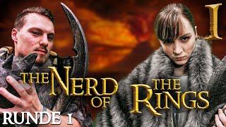 Quizzen, Zocken & Zanken - Wer ist DER Herr der Ringe Nerd? | Nerd of the Rings #1 mit Marah & Anton
