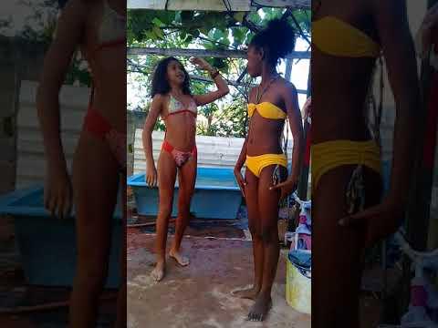 Primeiro vídeo do canal ♡ desafio da piscina♡