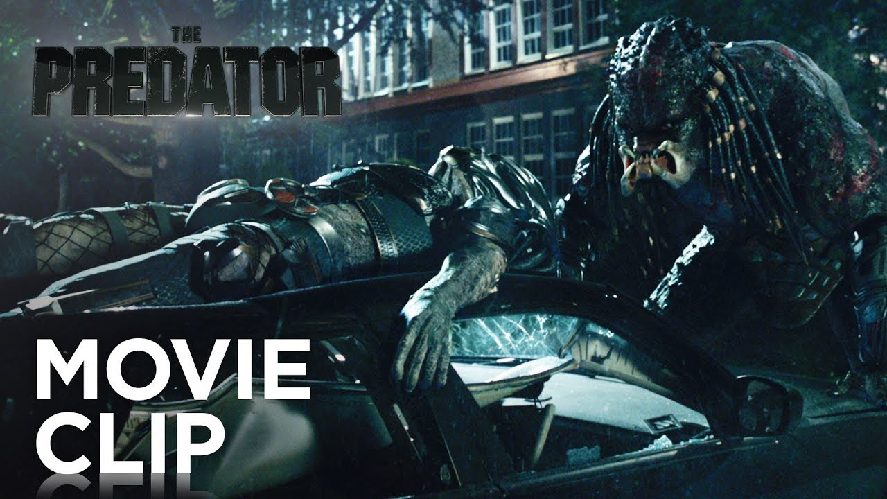 The Rogue vs Hybrid in Latest Violent Clip from THE PREDATOR