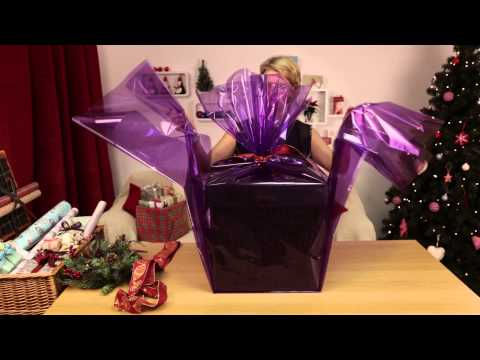 National Wrapping Day - How to Wrap a Luxury Hamper