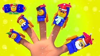 Christmas Finger Family | Nursery Rhymes & Songs for Babies | Xmas Carols & Music