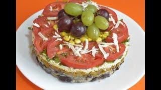 Вкусный слоеный салат рецепт