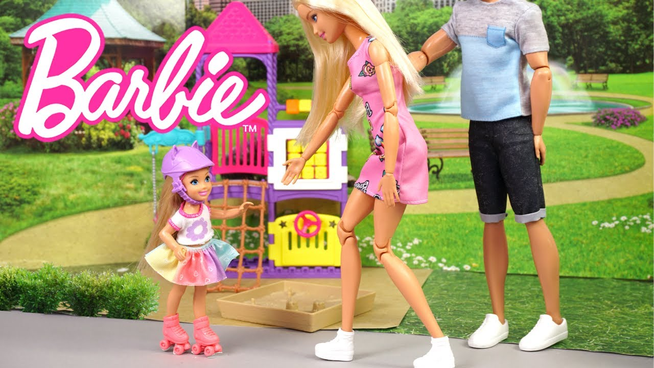 Barbie Teaches Chelsea How To Skate & Her Classmates Make Fun of Her