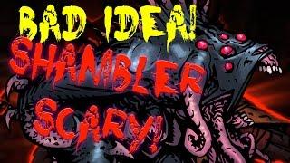 Darkest Dungeon - Bad IDEA!!  Shambler Party WIPE!!