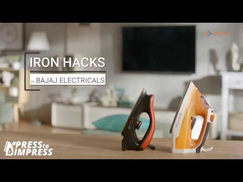 #PressToImpress Iron Hacks by Bajaj Electricals