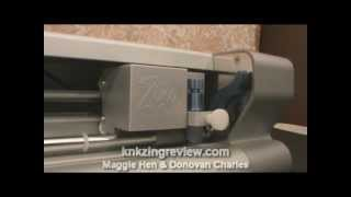 Inserting the Blade Holder Into The KNK Zing Die Cutting Machine