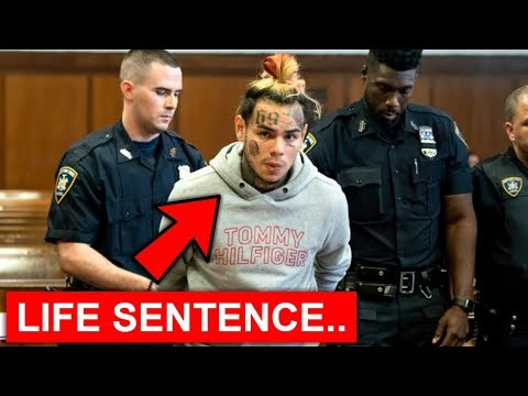 6ix9ine sentenced to LIFE after this happened