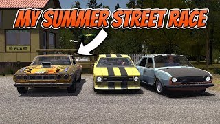 MY SUMMER CAR - SUMMER STREET RACE !