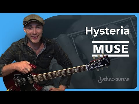 Hysteria - Muse (Songs Guitar Lesson ST-326) How to play