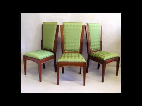 Art deco dining chairs ideas