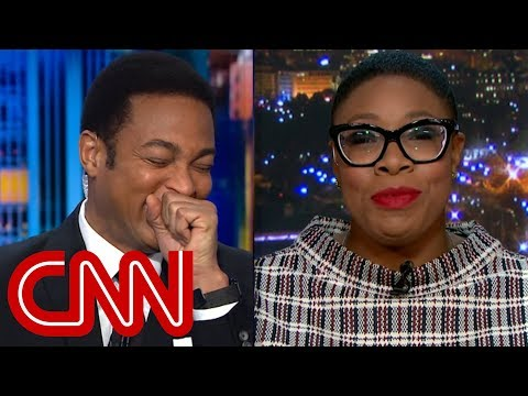 Don Lemon cracks up over guest's Omarosa burn