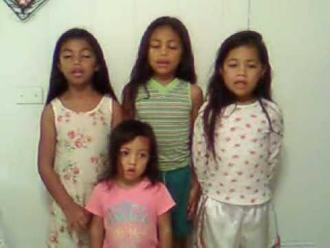 """Tonga girls in Hawaii sing """"Lau 'Eni koe Tofi'a"""""""