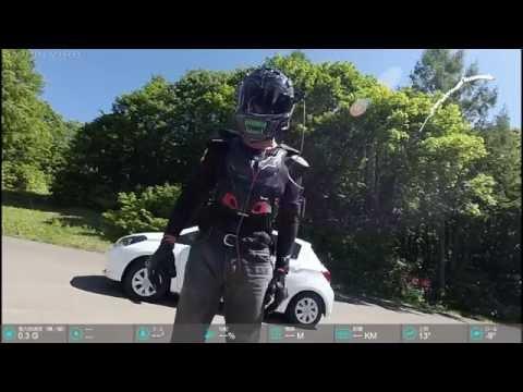 岩木山SKYLINE KAWASAKI H2 BY 3台Garmin VIRB XE