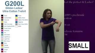 Best Ladies Fit Gildan T-Shirt Sizing Video