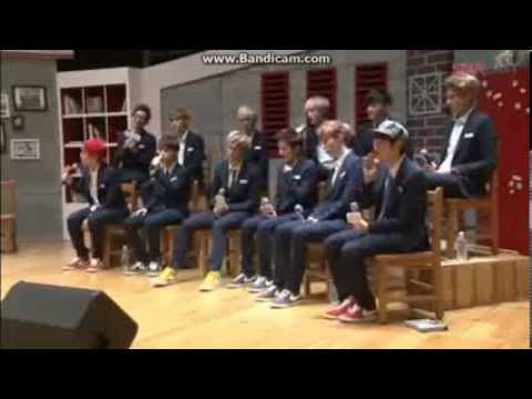130820 EXO's 'Midsummer Night's Growl' Event - EXO-M 'Lucky' and EXO-K 'XOXO' Live