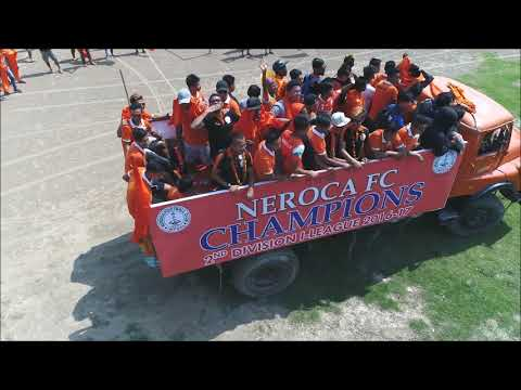 Welcoming Home the Heroes of NEROCA FC - The Pride Of Manipur