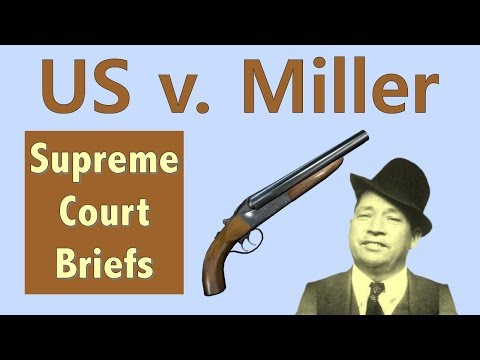 What Does The Second Amendment REALLY Mean? | US V. Miller